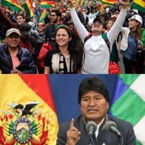 Evo Morales tritt unter dem Vorwurf des Wahlbetrugs und der politischen Krise in Bolivien zurück.