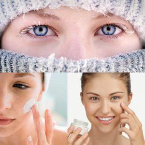 Haut bei Kälte