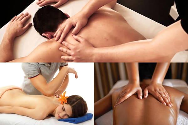 Wie macht man eine Rückenmassage